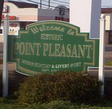 Point Pleasant welcome sign