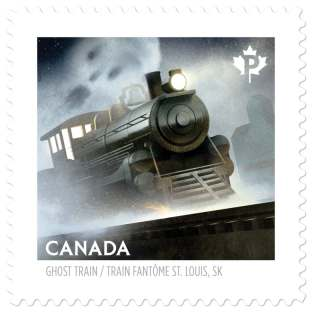 ghost-train-of-st-louis canadian stamp