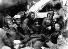 Survivors of Uruguayan Air Force flight 571