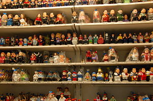 Modern caricalture caganers (source Wikipedia)